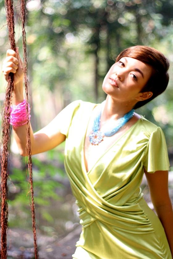 crystal necklaces, models, girls, pretty, fashion, lydia thai singer , bangkok photograper