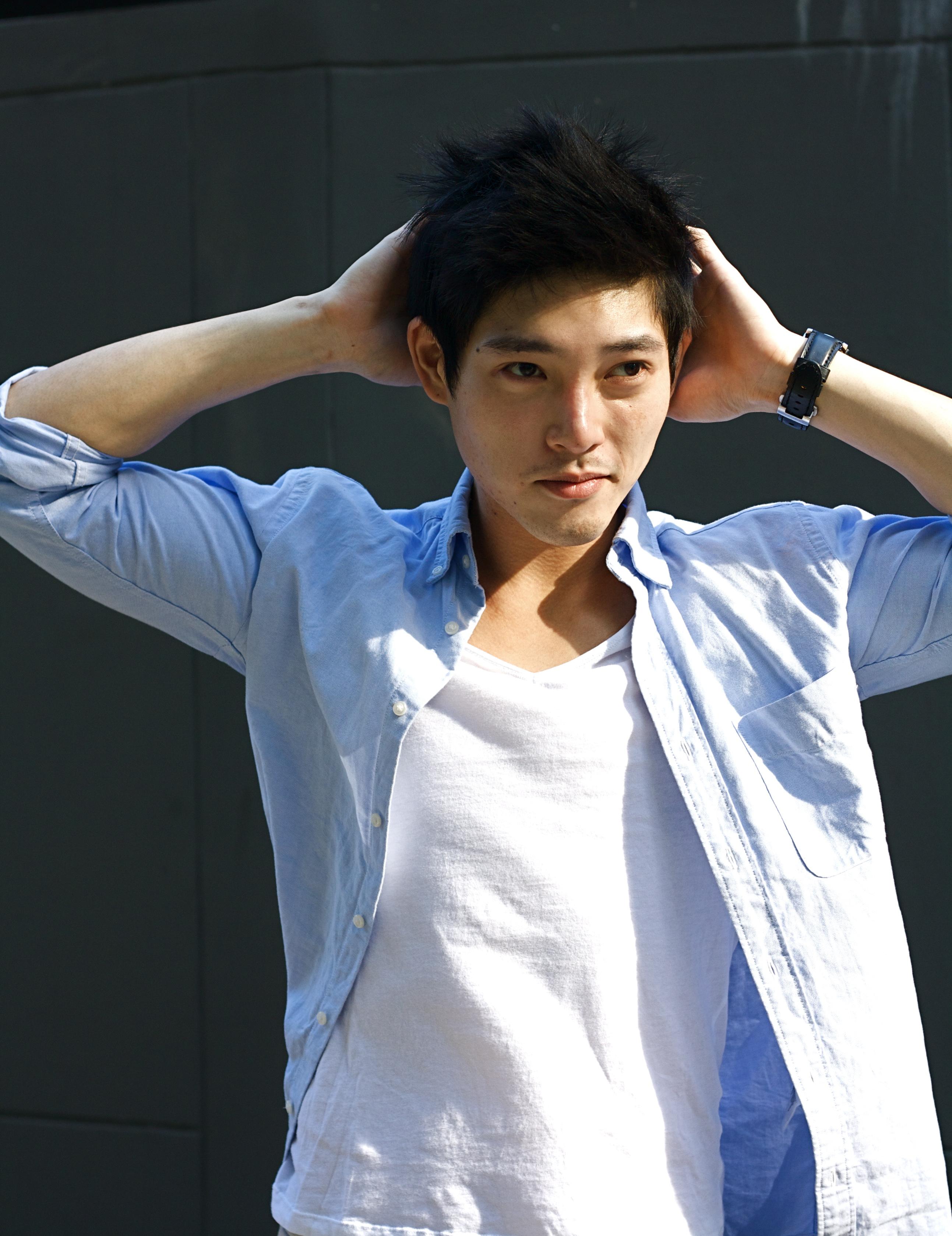 male photo Asian model