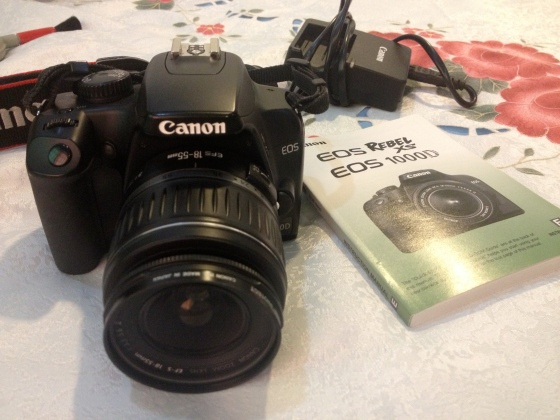 canon 1000 d for sale!